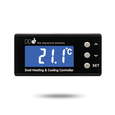D-D eu dual temp controller display
