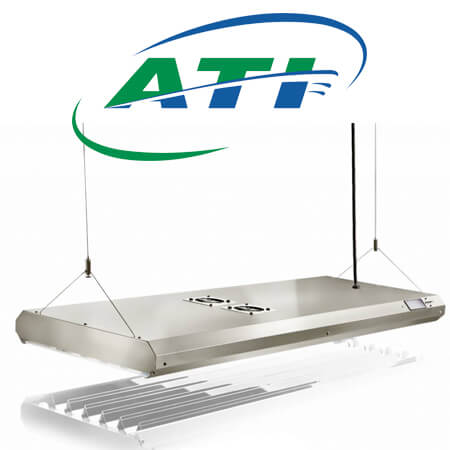 ATI T5 Sun Power fixtures dimmable
