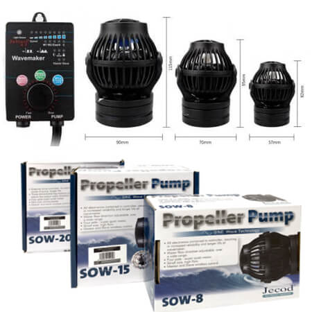 Jecod / Jebao SOW flow pumps (sine wave)