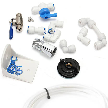 Osmosis hoses, couplings and taps