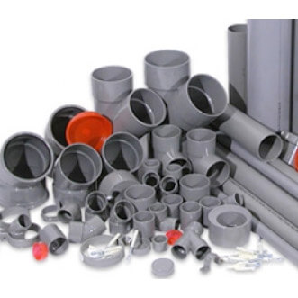 PVC pipes, couplings, faucets & glue