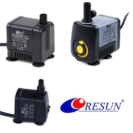 Resun SP mini pumps