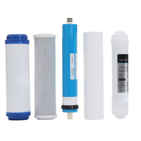 Filter cartridges for osmosis devices