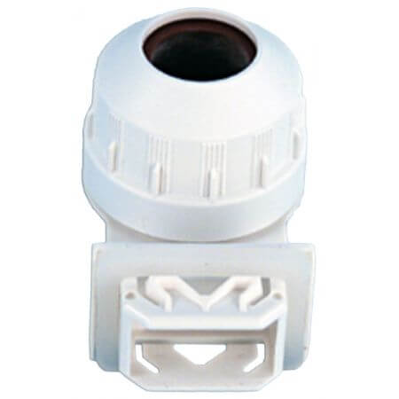 16mm T5 waterproof lamp holder INSERT model + ring + rubber sealing plate