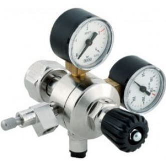 AquaHolland CO2 pressure regulator - very fine adjustable needle valve