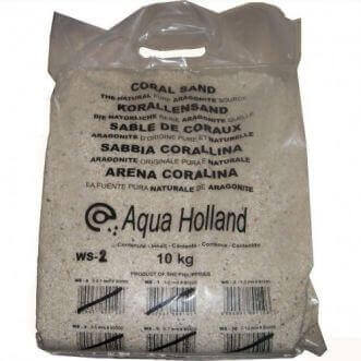 AquaHolland Coral sand 0.2-1mm - bag of 10 kg.