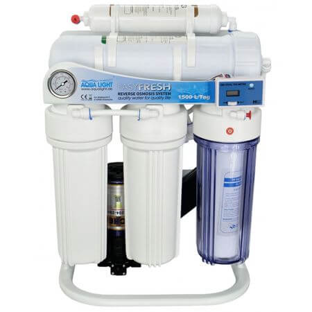 AquaLight reverse osmosis SUPER-1500 l / day with booster pump and digital controller