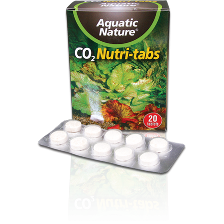 Aquatic Nature CO2 NUTRI TABS (20 tabs)