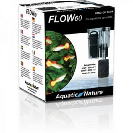 Aquatic Nature HANG ON FILTER FLOW 60