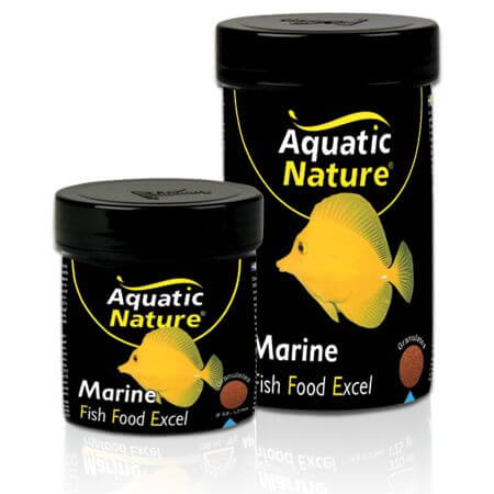 Aquatic Nature MARINE FISH FOOD EXCEL COLOR