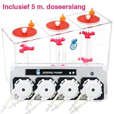 Coral Box Wireless WiFi Dosingpump set.