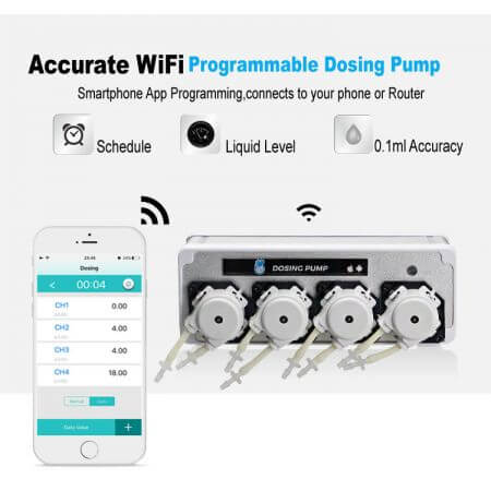 Coral Box WIFI Dosing Pump 8 channel (Set of 2 pieces)