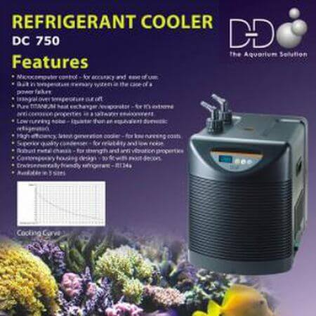D&D Refrigerated aquarium koeler DC-750