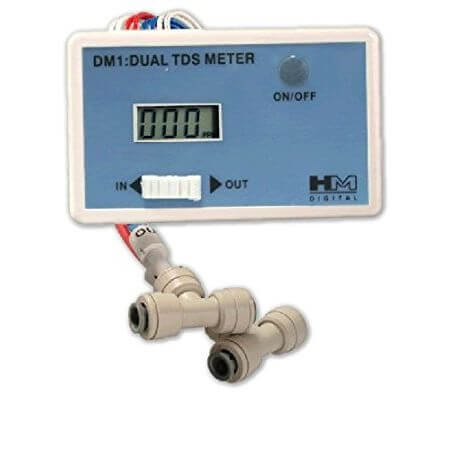 DUAL TDS monitor - for measuring dissolved substances