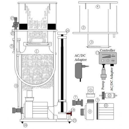 Deltec SC 1351 & SC 1456, 24V DC parts