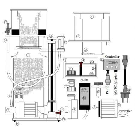 Deltec SCC 1660, SCM 1660, SCC 2061, SCM 2061, 24V DC parts
