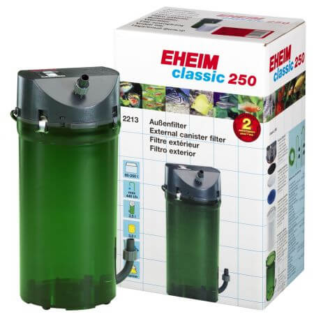 EHEIM Classic 250 - pot filter without filter media <250L
