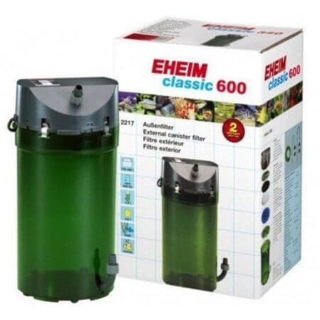 EHEIM Classic 600 - pot filter without filter media