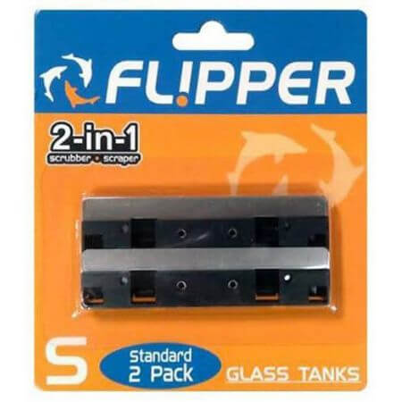 Flipper Cleaner Standard Stainless Steel Spare Blade (2 pieces)