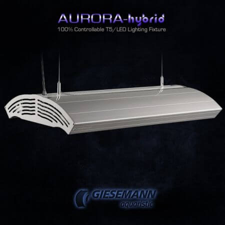 Giesemann AURORA HYBRID 4 x 80 Watt + 4 x 85W LED - 1500 mm Iridium Metallic