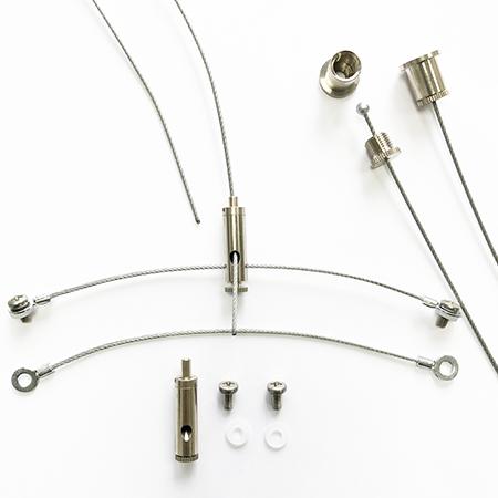 Giesemann Steel wire suspension