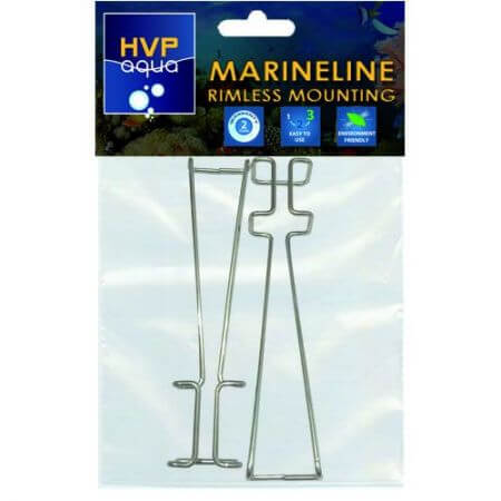 HVPaqua Rimless mounting brackets for MarineLINE