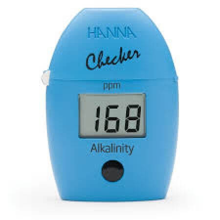 Hanna Checker pocket photometer alkalinity in freshwater