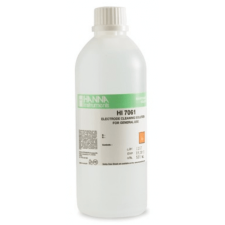 Hanna Cleaning solution for PH and redox electrodes 500 ml image