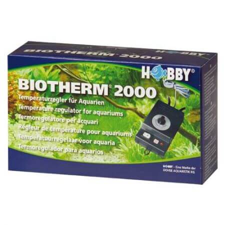 Hobby Biotherm 2000 for aquariums, temp at night. decrease 2 ° C