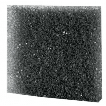 Hobby Black filter foam coarse 50x50x5cm.