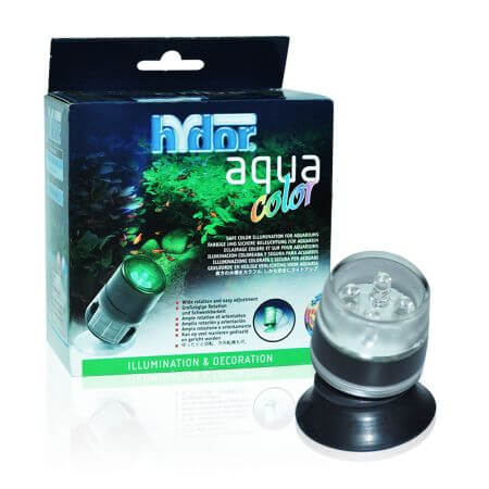 Hydor Color - Green. (green) - 4 LEDs - for top and underwater use