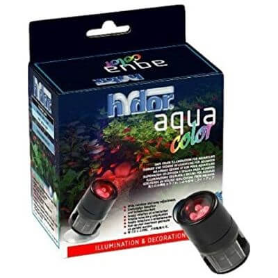 Hydor Color - Red. (red) - 4 LEDs - for top and underwater use