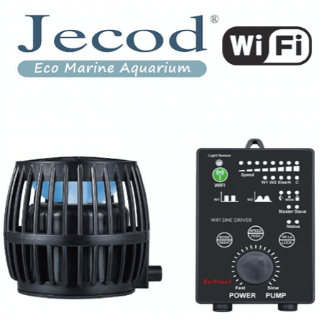 Jecod DW-9 + Wi-FI controller (Flow pump / wavemaker)