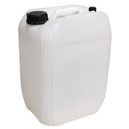 Jerrycan 20L filled with fresh seawater (pick up)