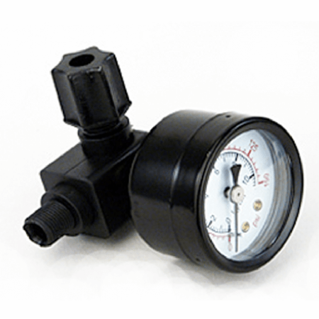 Pressure gauge set for reverse osmosis systems