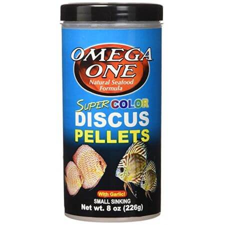 Omega One Discus Pellets