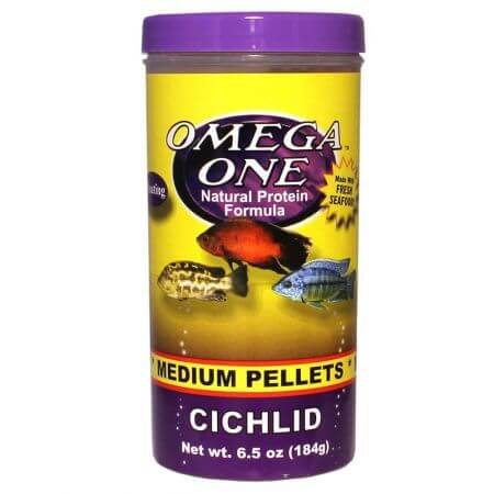 Omega One Medium Cichlid Pellets
