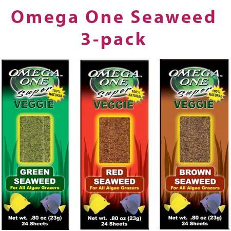 Omega One Seaweed 3-pack
