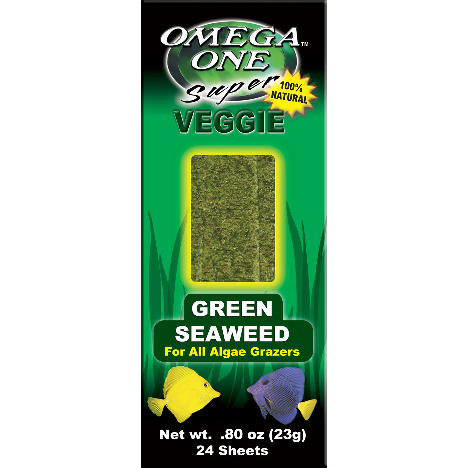 Omega One Seaweed Green 24 sheets