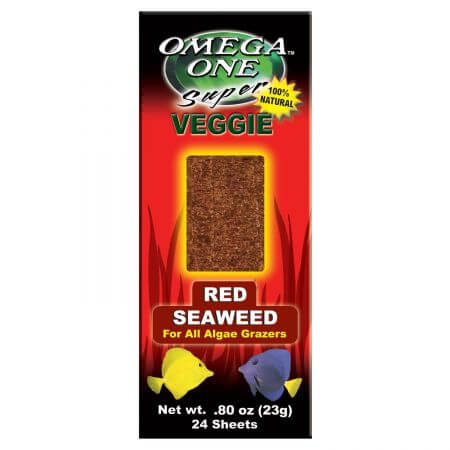 Omega One Seaweed Red 24 sheets