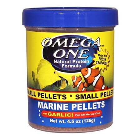 Omega One Sinking Garlic Pellets