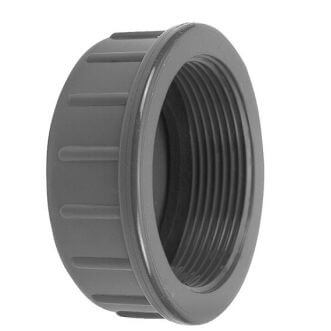 PVC wire cap flat with rubber ring VDL