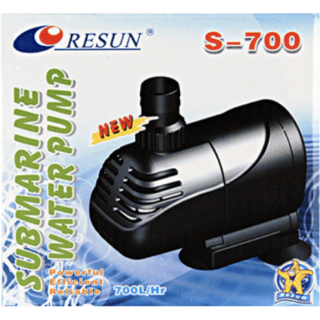 Resun waterpomp S-700l / h - 0,9m - 10Watt