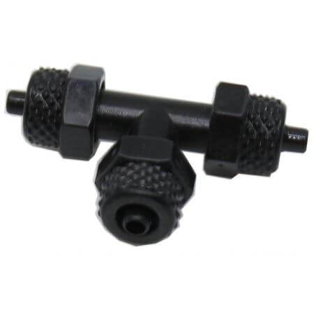 T-piece for plastic hose 4mm