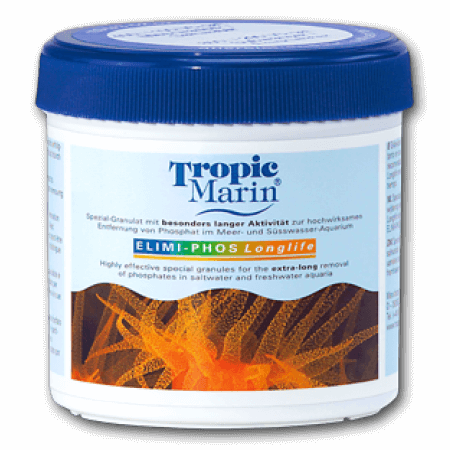 Tropic Marin Elimi-Phos longlife 400gr. for sea and fresh water.