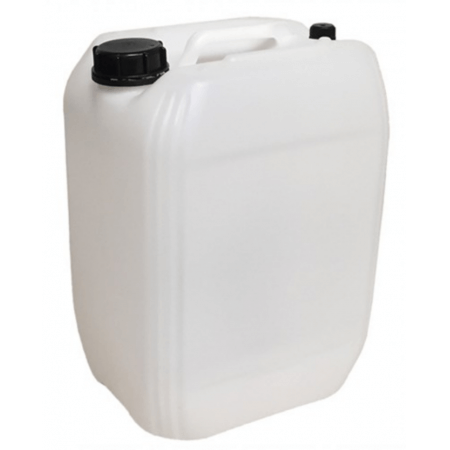 Jerrycan 20L filled with fresh seawater